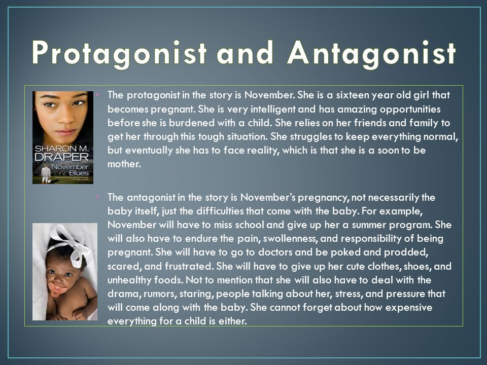 Protagonist and Antagonist