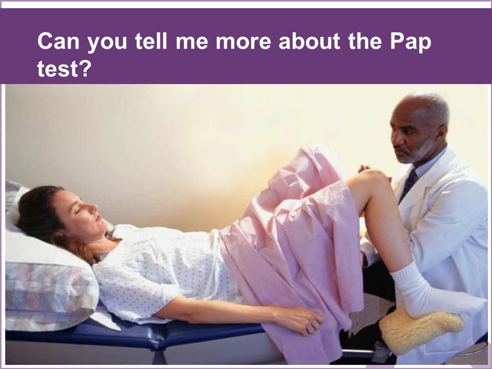 Can you tell me more about the Pap test