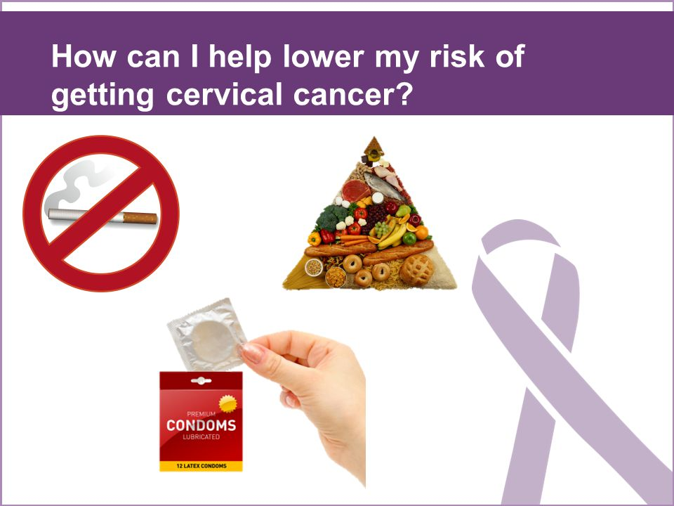 what you can do to help protect yourself against cervical