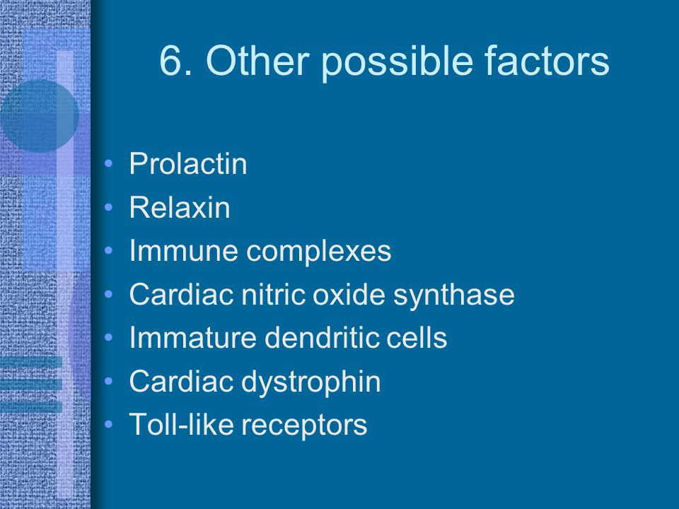 6. Other possible factors