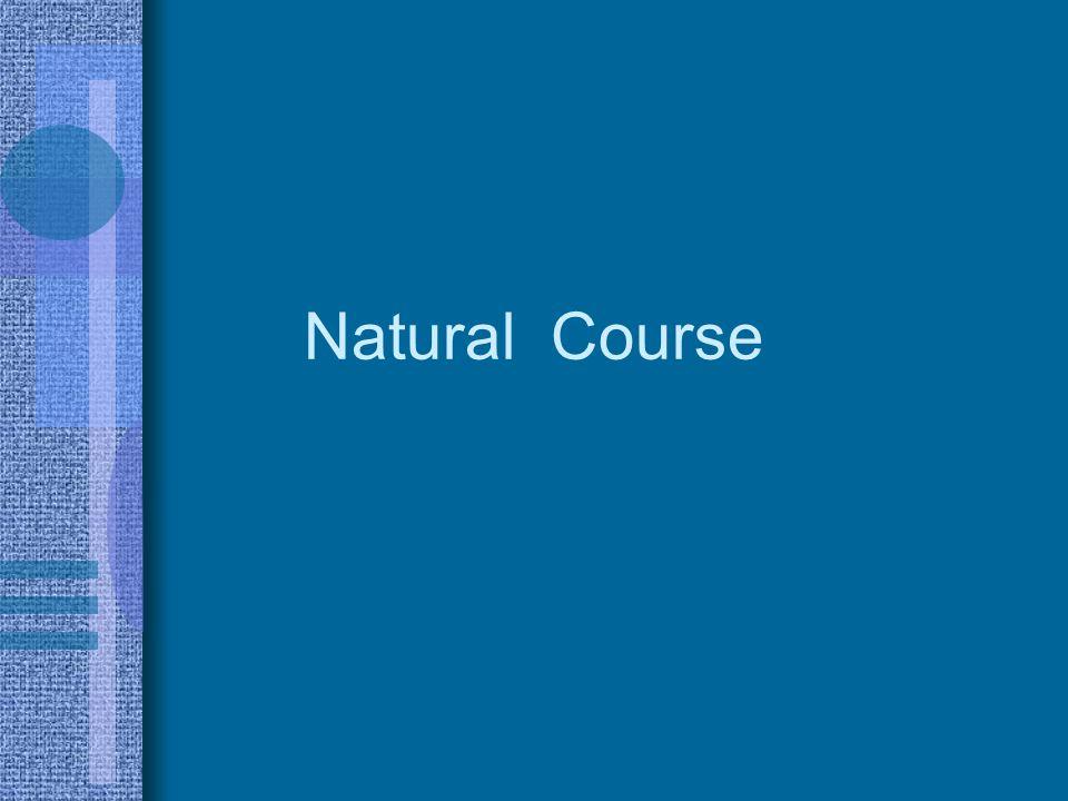 Natural Course