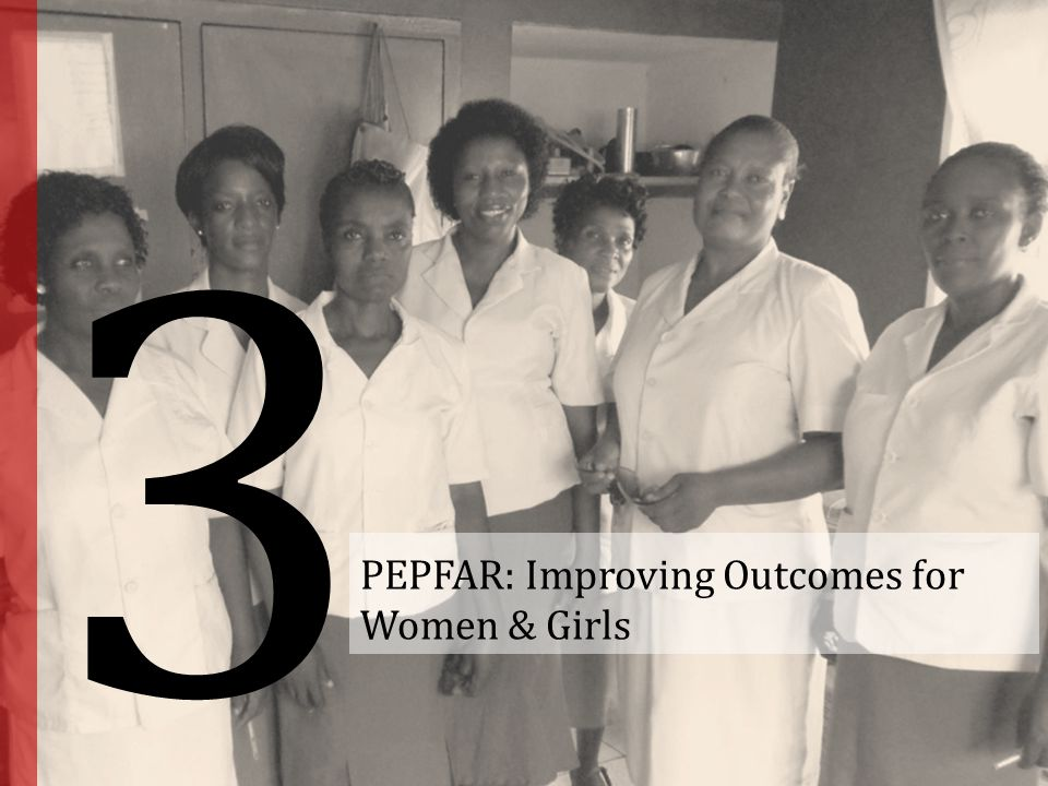 PEPFAR: Improving Outcomes for Women & Girls
