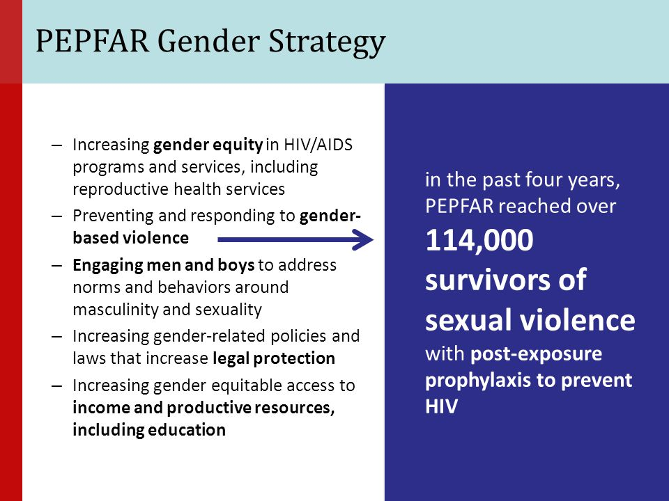 PEPFAR Gender Strategy