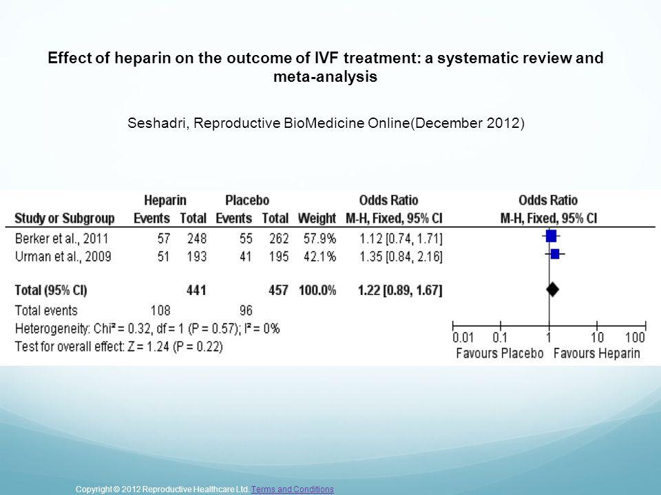 Seshadri, Reproductive BioMedicine Online(December 2012)