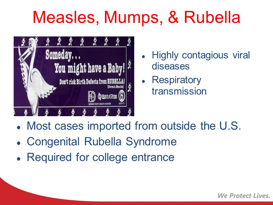 Measles, Mumps, & Rubella