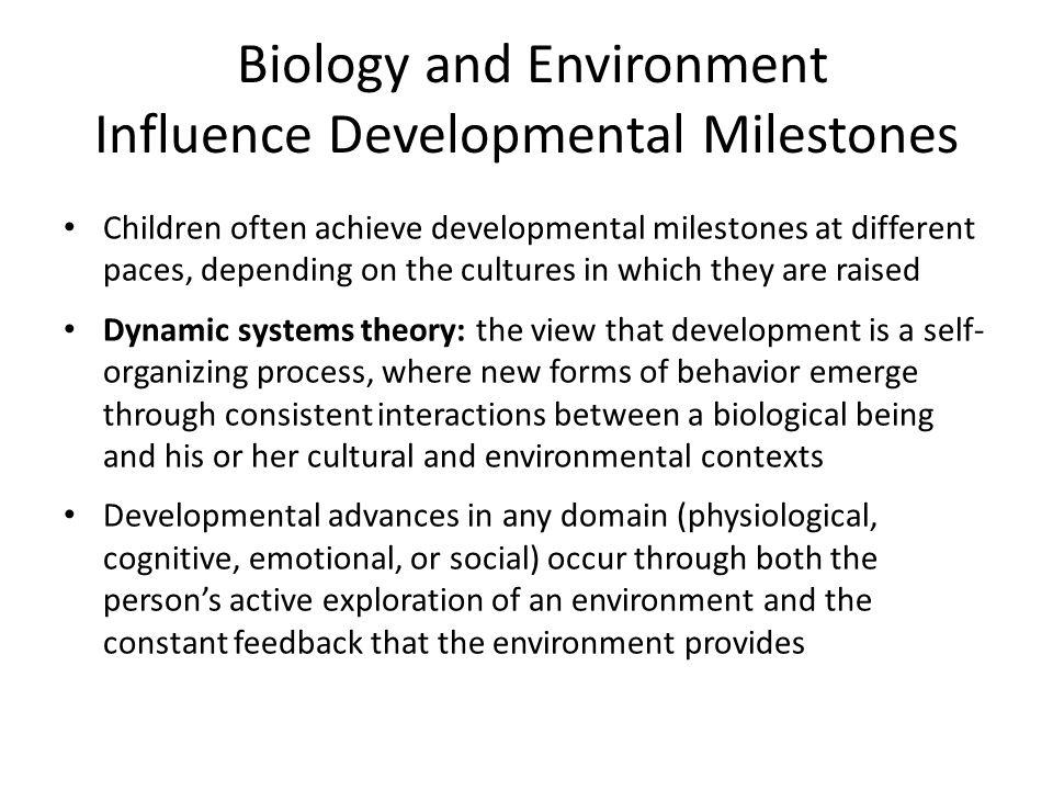 Biology and Environment Influence Developmental Milestones