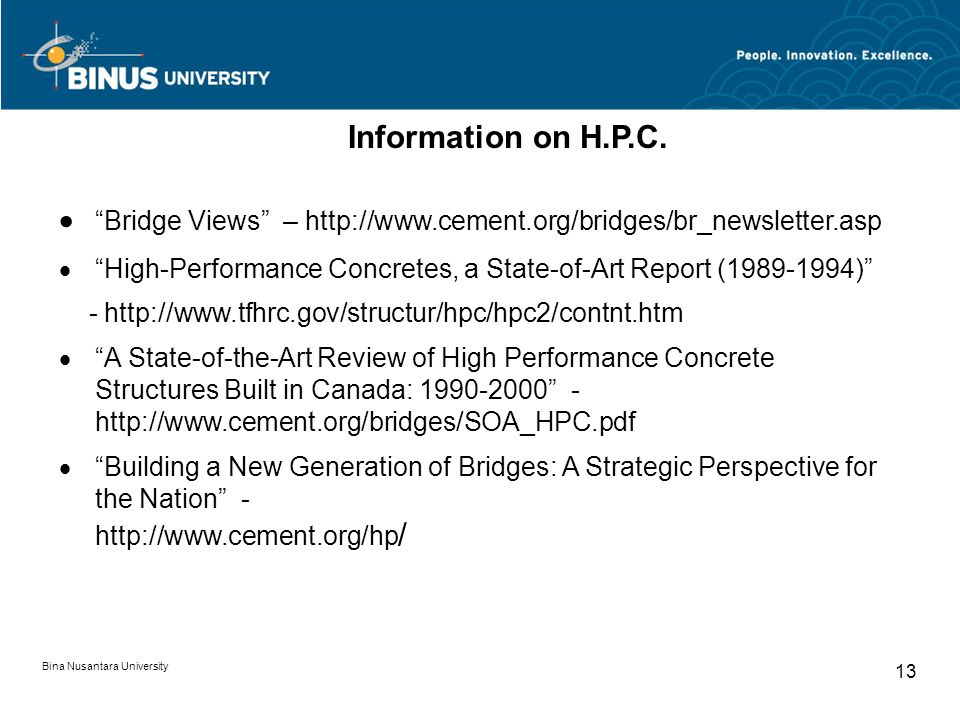 · Bridge Views – http://www.cement.org/bridges/br_newsletter.asp