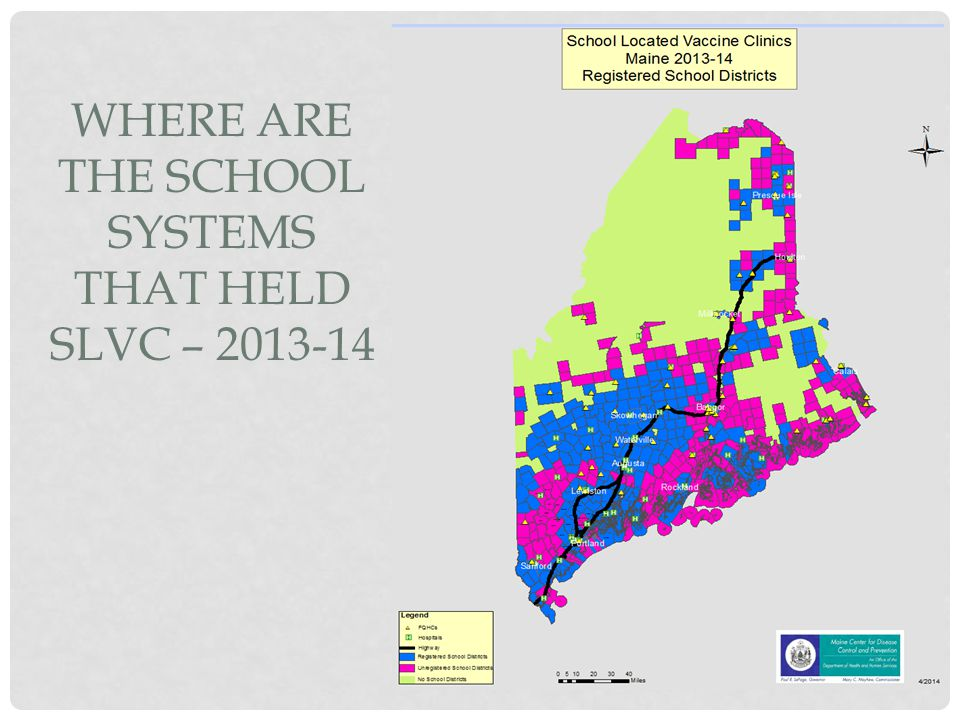 Where are the School Systems that held SLVC – 2013-14