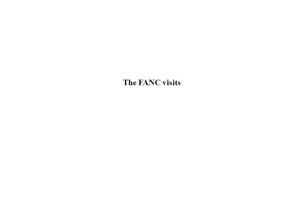 The FANC visits