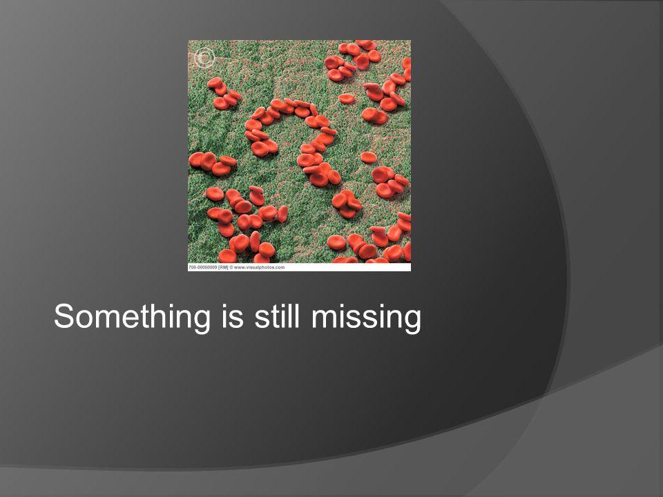 Something is still missing