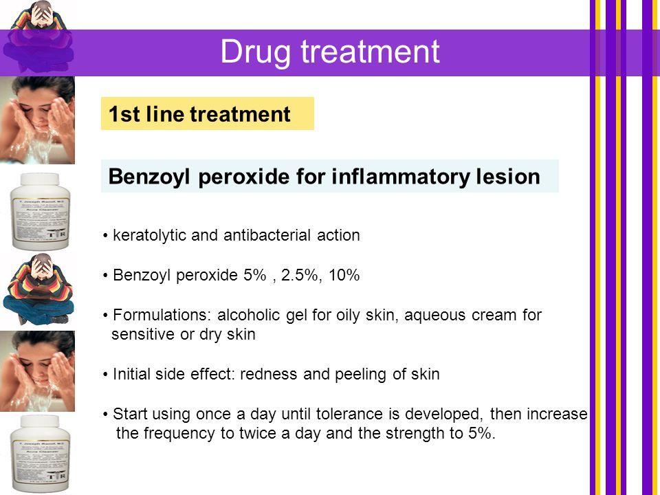 Drug treatment 1st line treatment