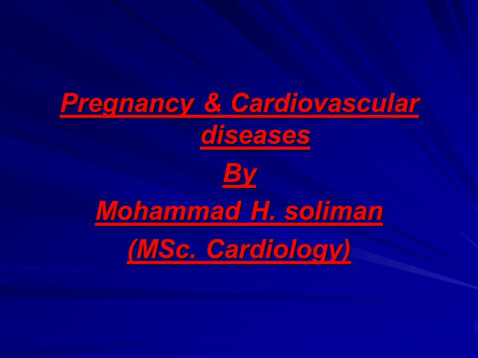 Pregnancy & Cardiovascular diseases