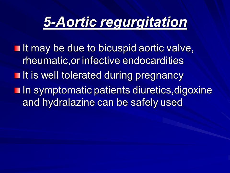 5-Aortic regurgitation