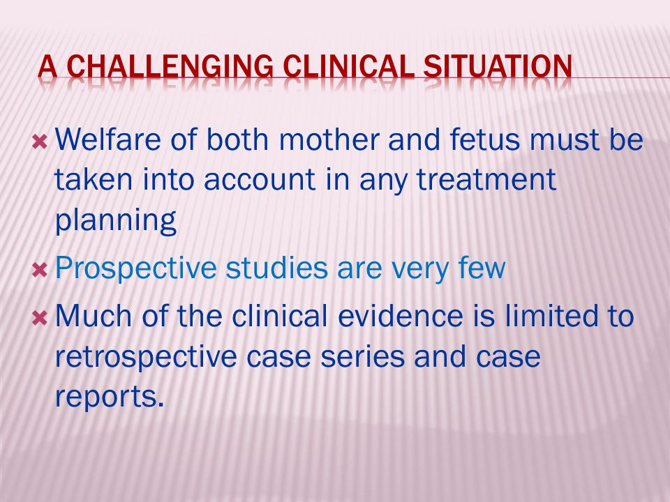 a challenging clinical situation