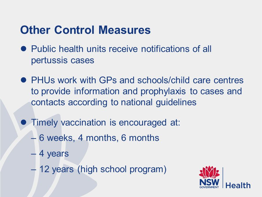Pertussis Protection Plan 2015