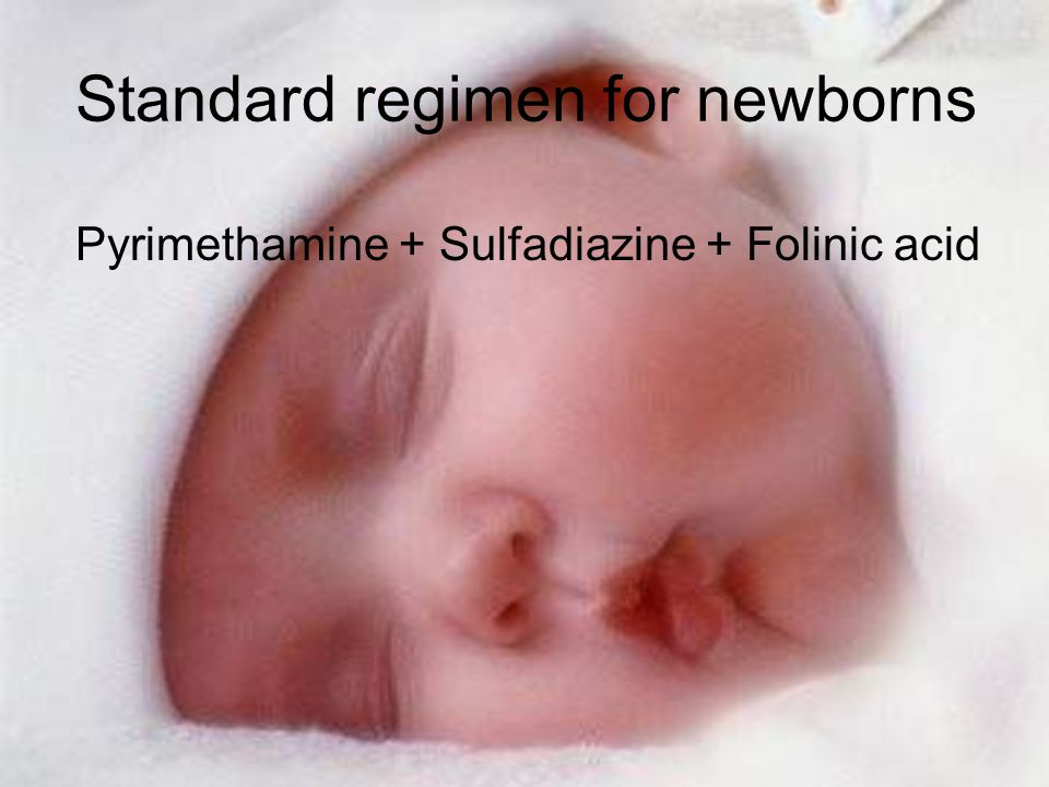 Standard regimen for newborns