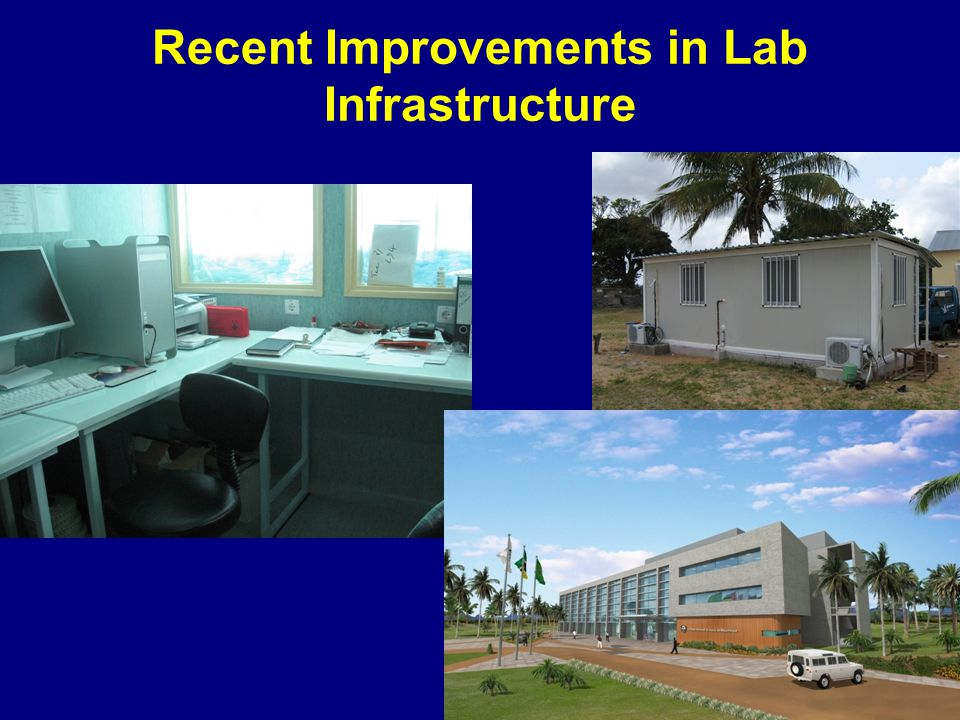 Recent Improvements in Lab Infrastructure