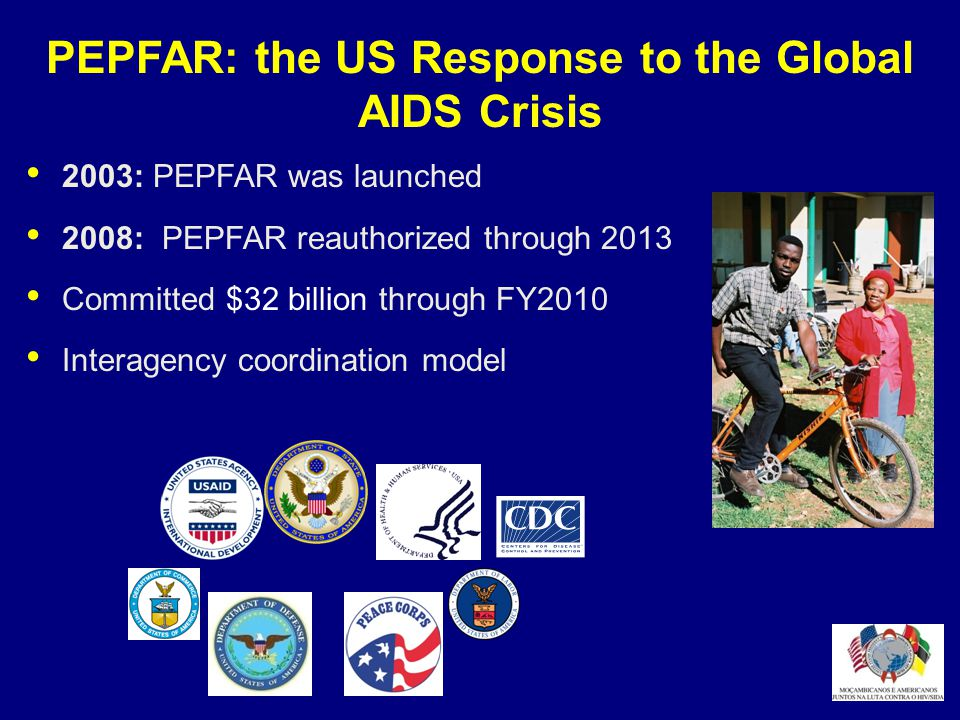 PEPFAR: the US Response to the Global AIDS Crisis