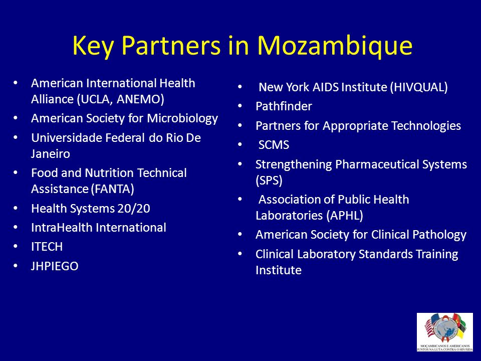 Key Partners in Mozambique