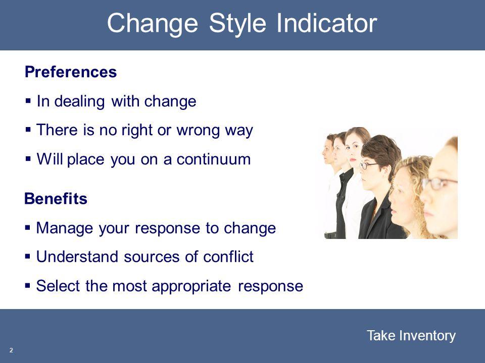 Change Style Indicator