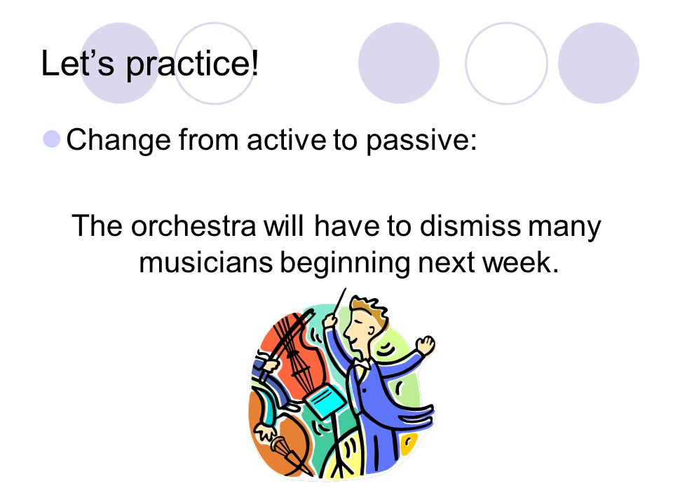 The orchestra will have to dismiss many musicians beginning next week.