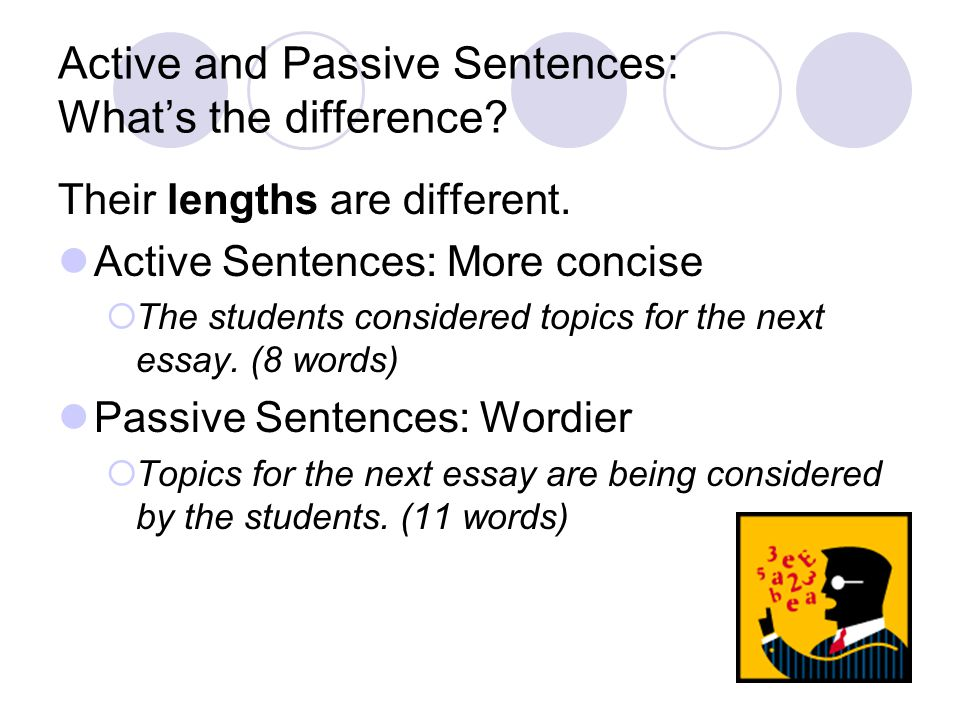 Active and Passive Sentences: What's the difference