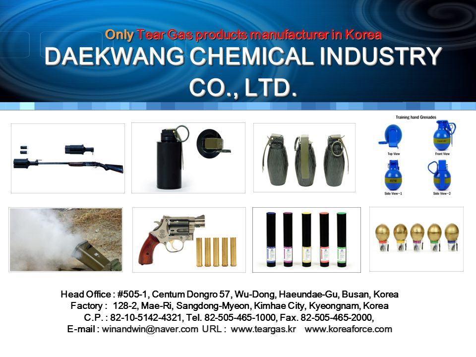 DAEKWANG CHEMICAL INDUSTRY CO., LTD.