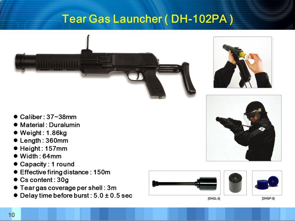 Tear Gas Launcher ( DH-102PA )