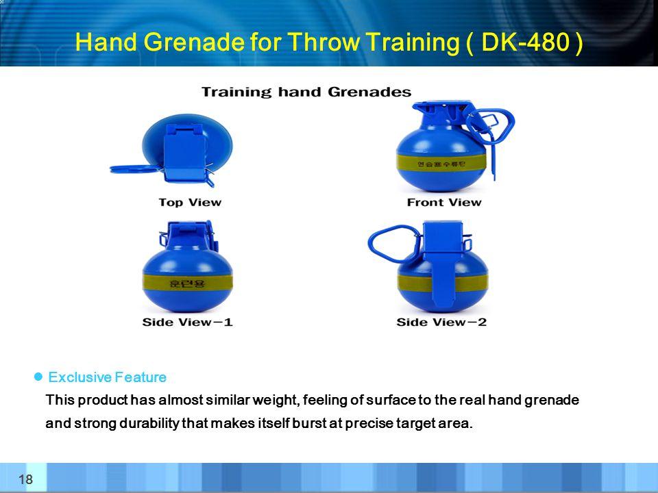 Hand Grenade for Throw Training ( DK-480 )