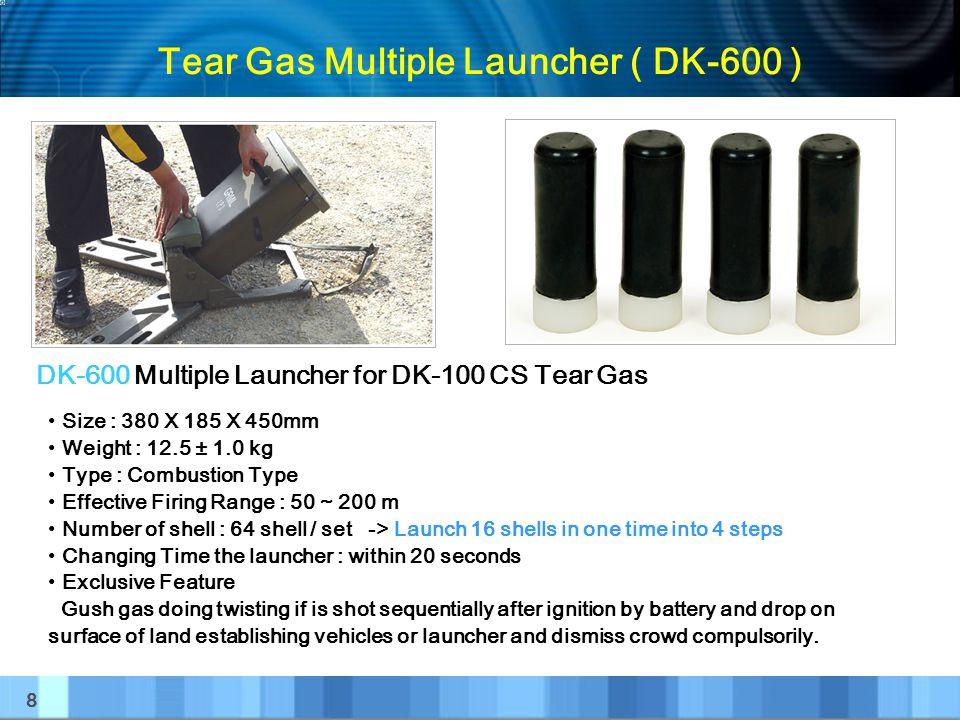 Tear Gas Multiple Launcher ( DK-600 )