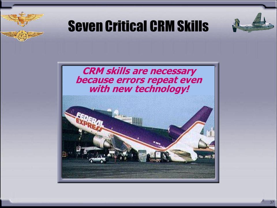 Seven Critical CRM Skills