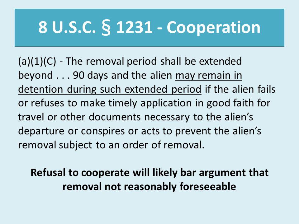 8 U.S.C. § 1231 - Cooperation