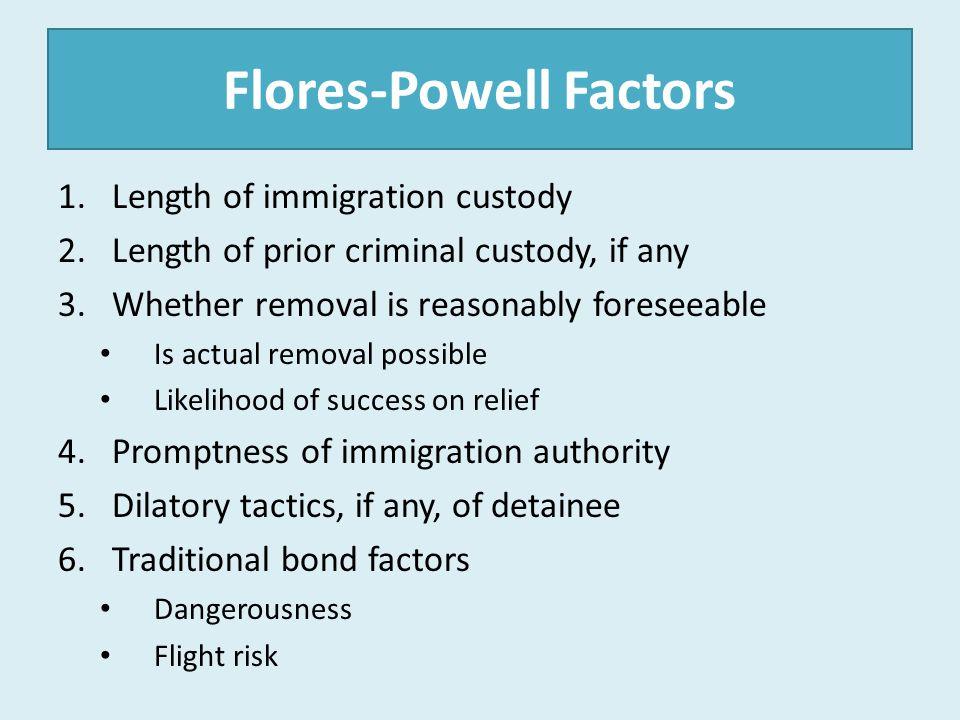 Flores-Powell Factors
