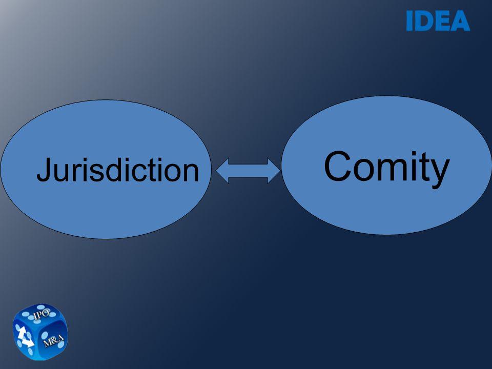 Jurisdiction Comity