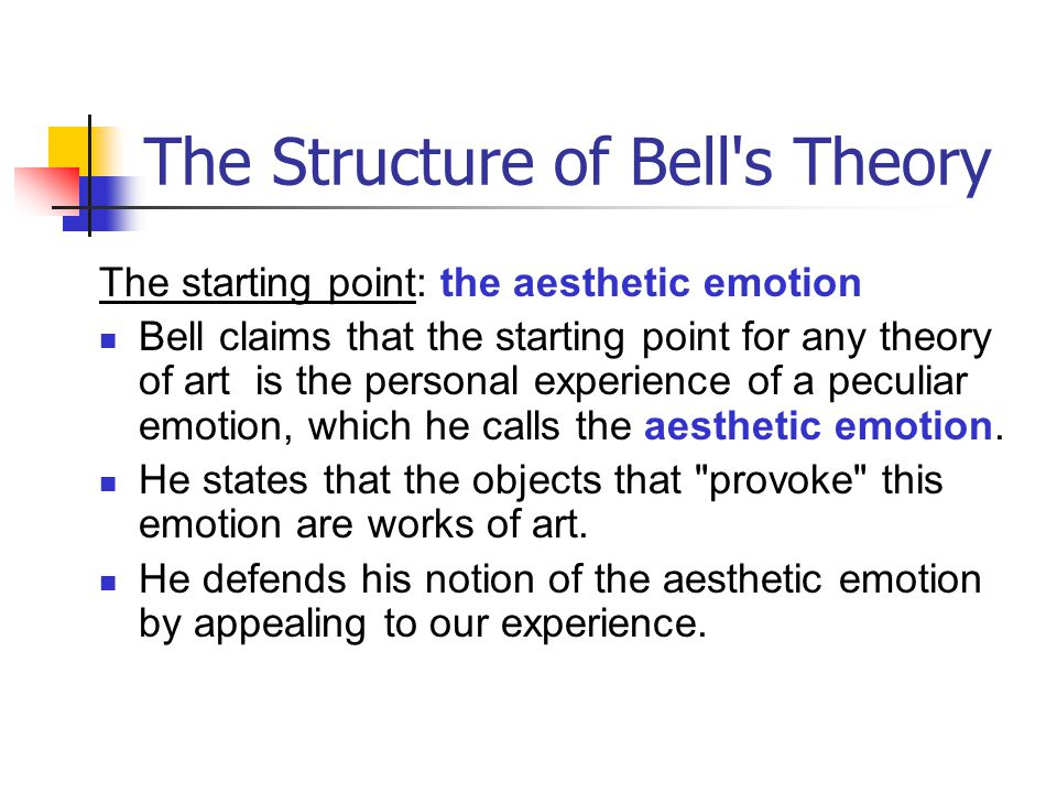 The Structure of Bell s Theory