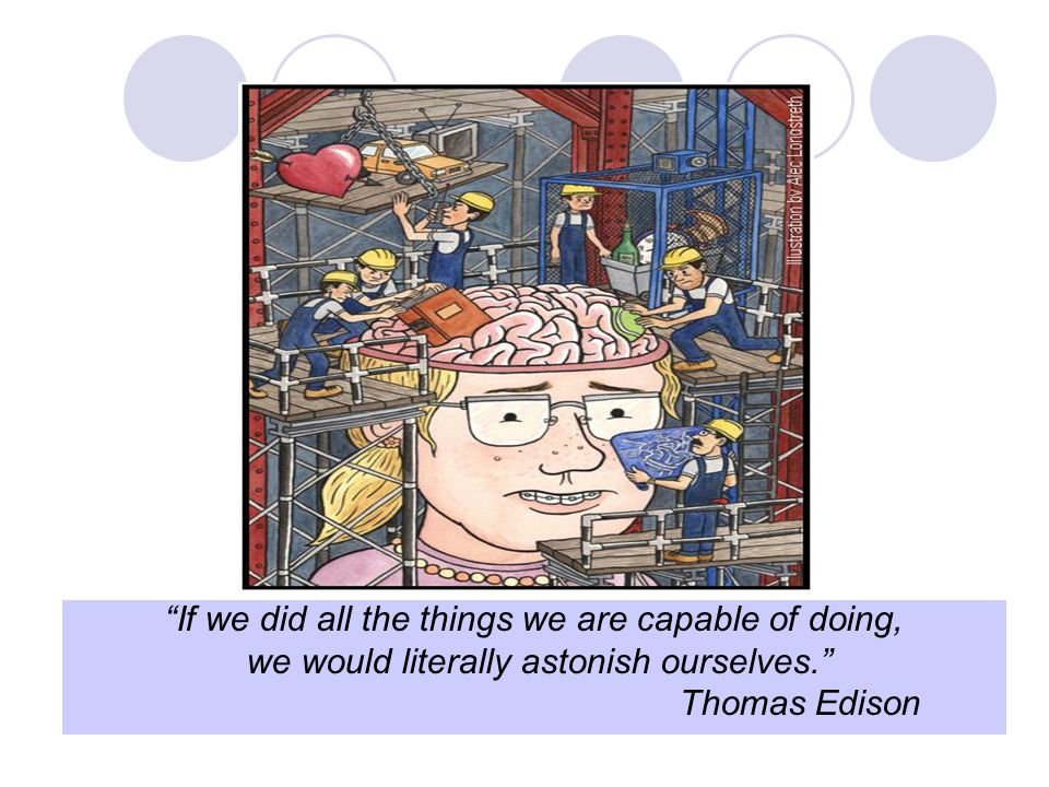 If we did all the things we are capable of doing,