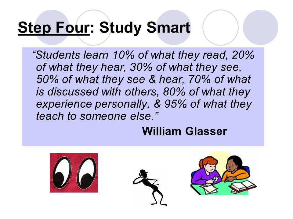 Step Four: Study Smart