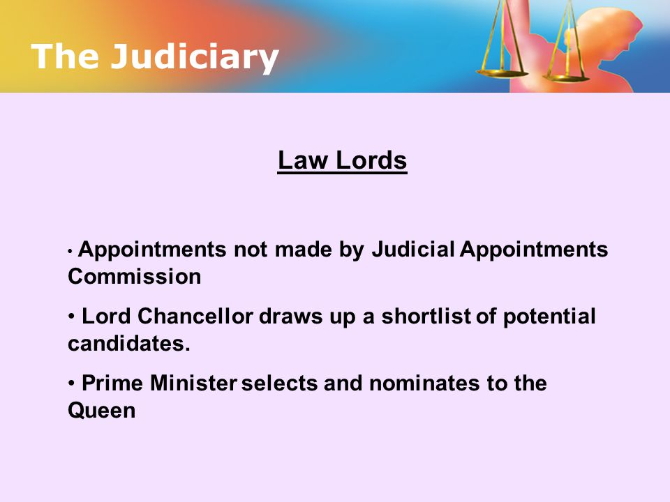 The Judiciary Law Lords