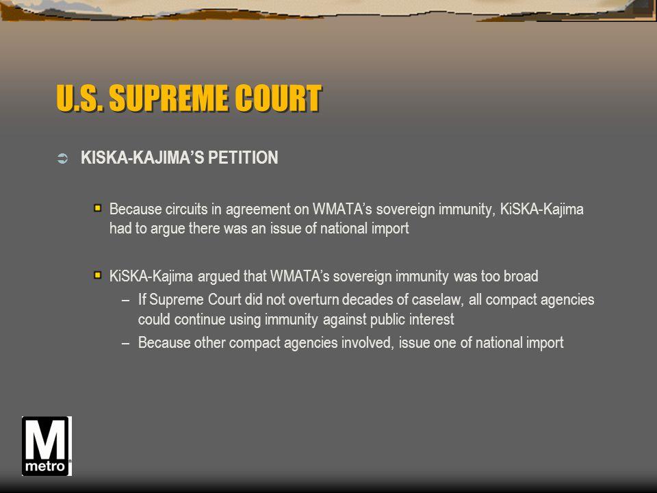 U.S. SUPREME COURT KISKA-KAJIMA'S PETITION