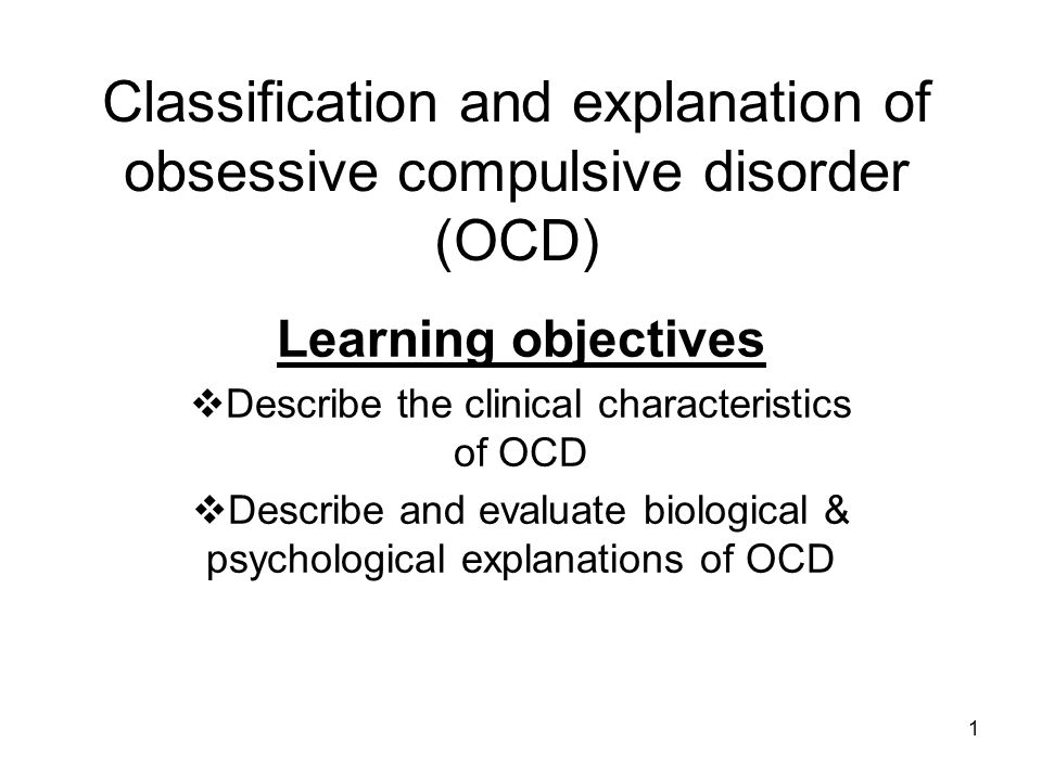 clinical characteristics of phobic disorders