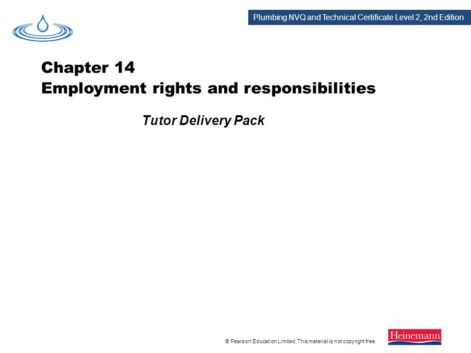 Chapter 14 Employment rights and responsibilities