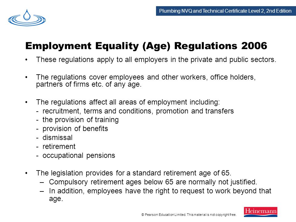 Employment Equality (Age) Regulations 2006