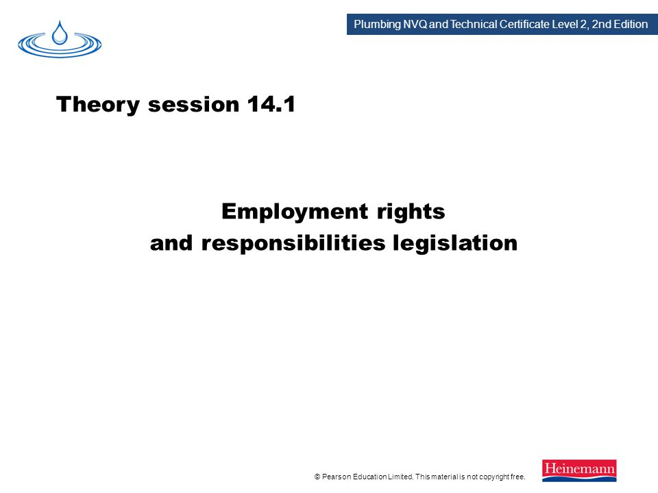 understand employment responsibilities and rights Understand employment responsibilities and rights in health, social care or children and young people's settings 11 know the statutory responsibilities a.