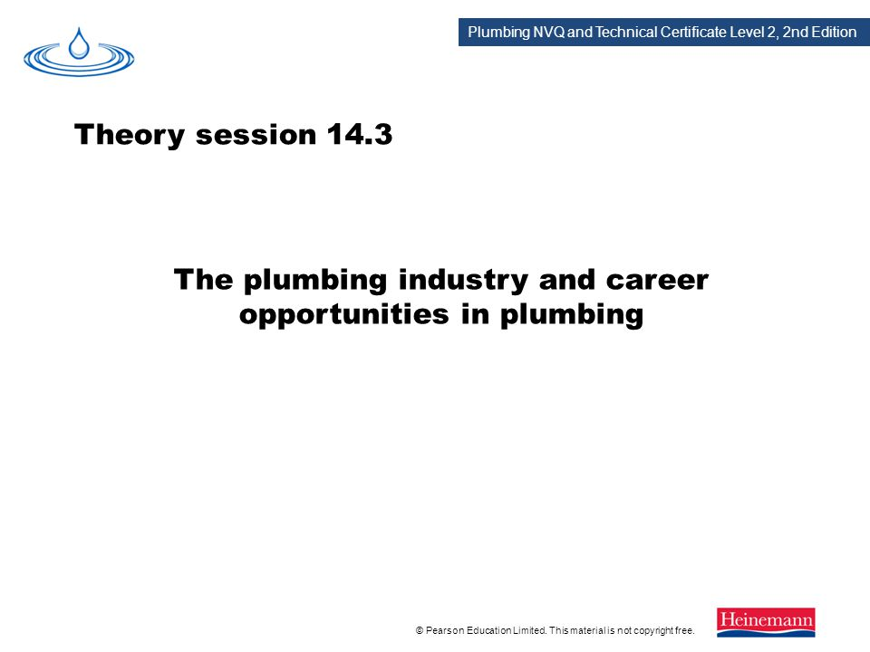 The plumbing industry and career opportunities in plumbing