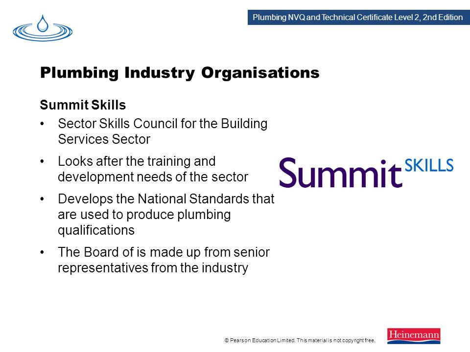 Plumbing Industry Organisations