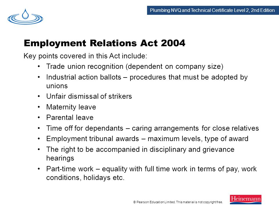 Employment Relations Act 2004