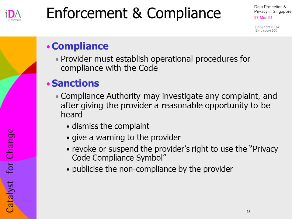 Enforcement & Compliance