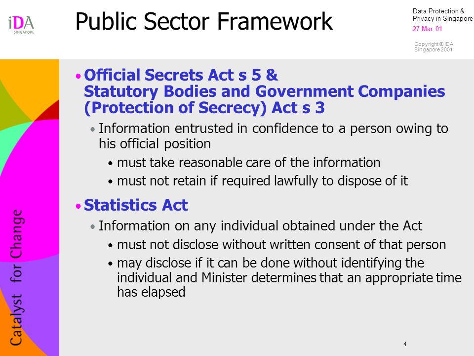 Public Sector Framework