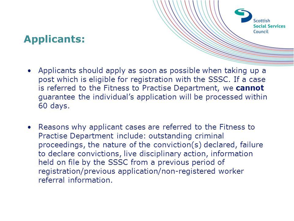Applicants:
