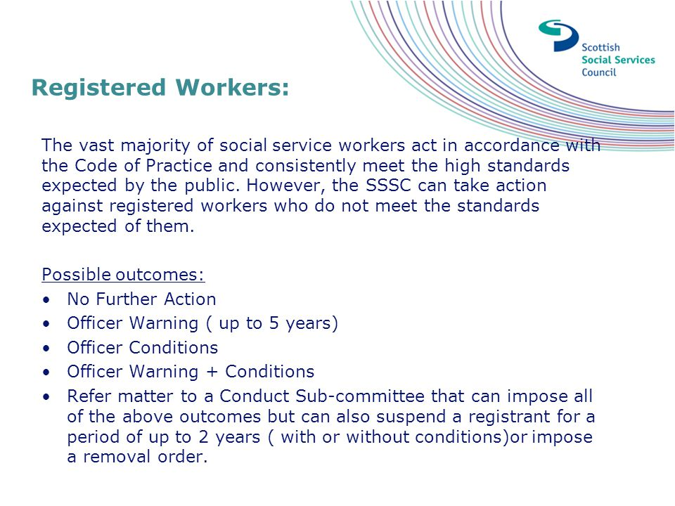 Registered Workers: